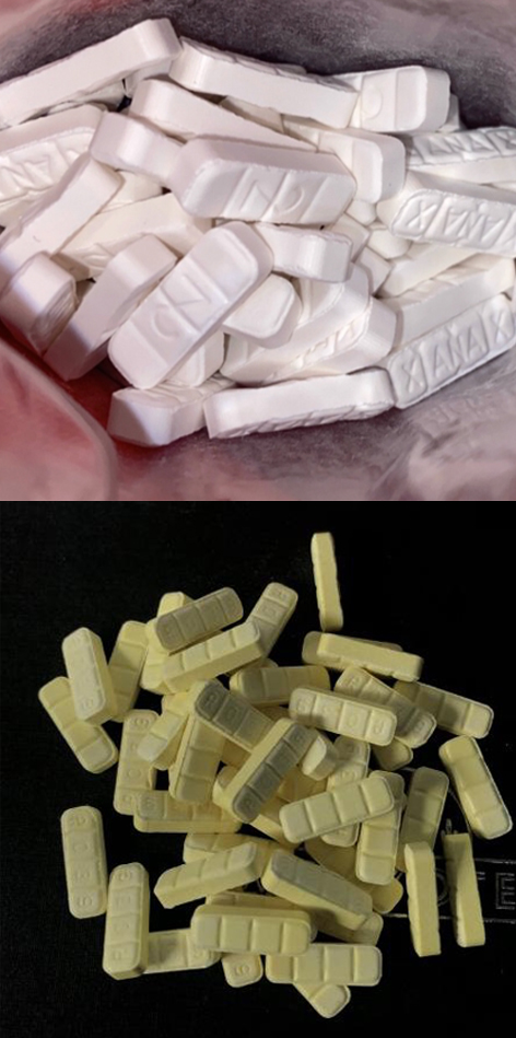 Increase In Fake Xanax Tablets High Alert